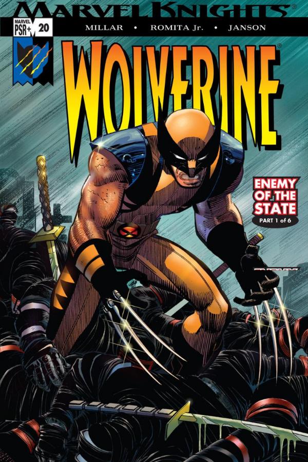 Marvel Comics John Romita Jr. Wolverine