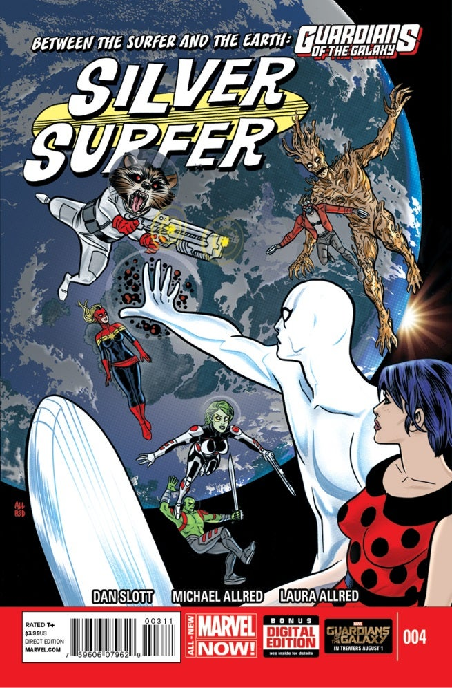 Silver Surfer 4 Cover