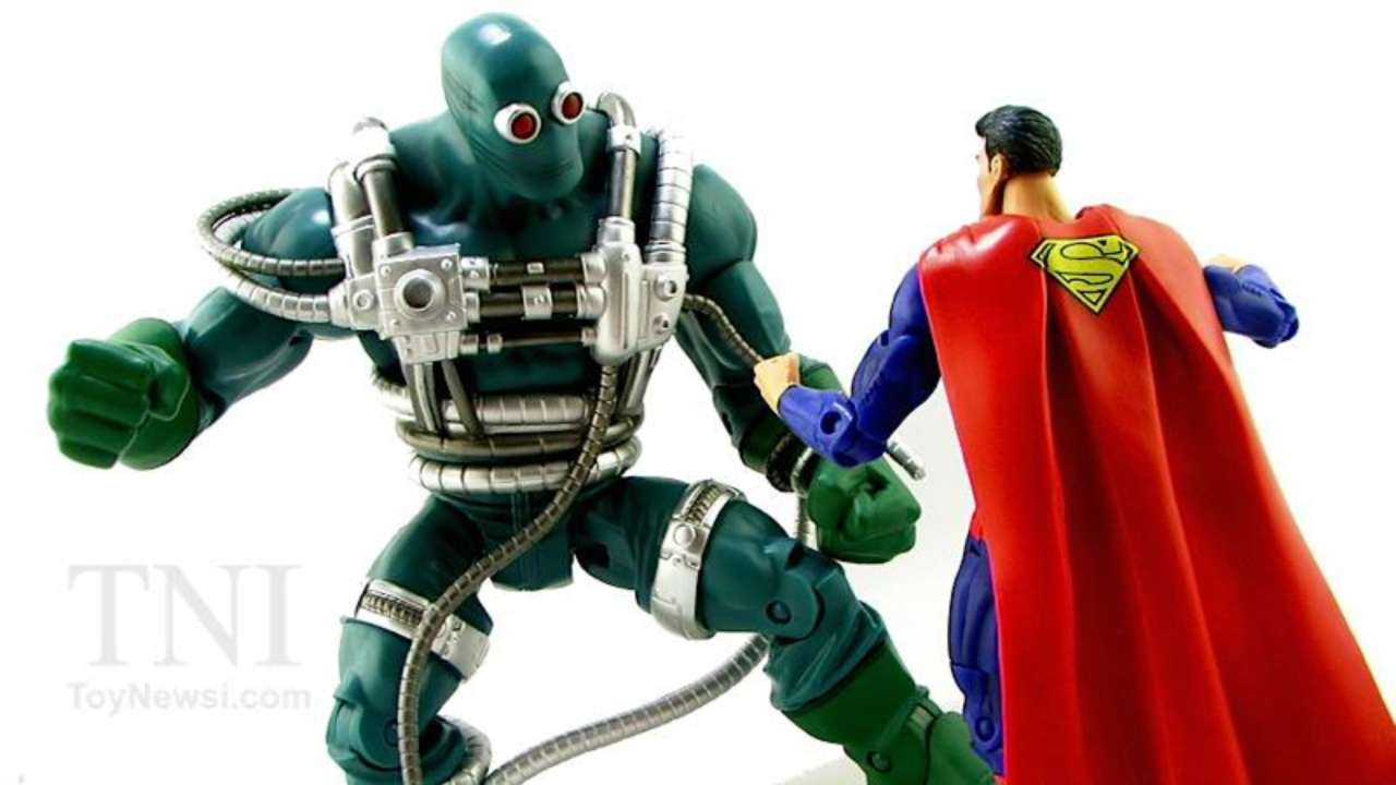 Doomsday San Diego Comic Con Exclusive Action Figure From Dc And Mattel Revealed