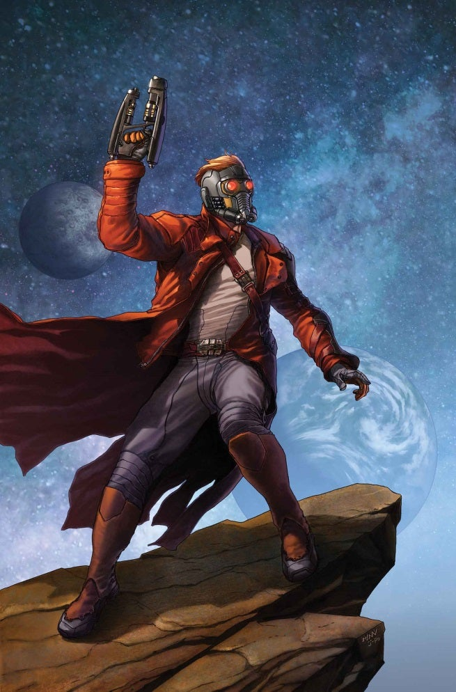 The Legendary Star-Lord 1 Cover