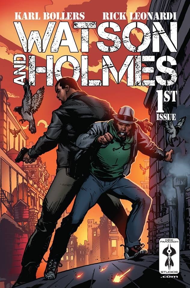 Watson and Holmes - issue 1 cover rare