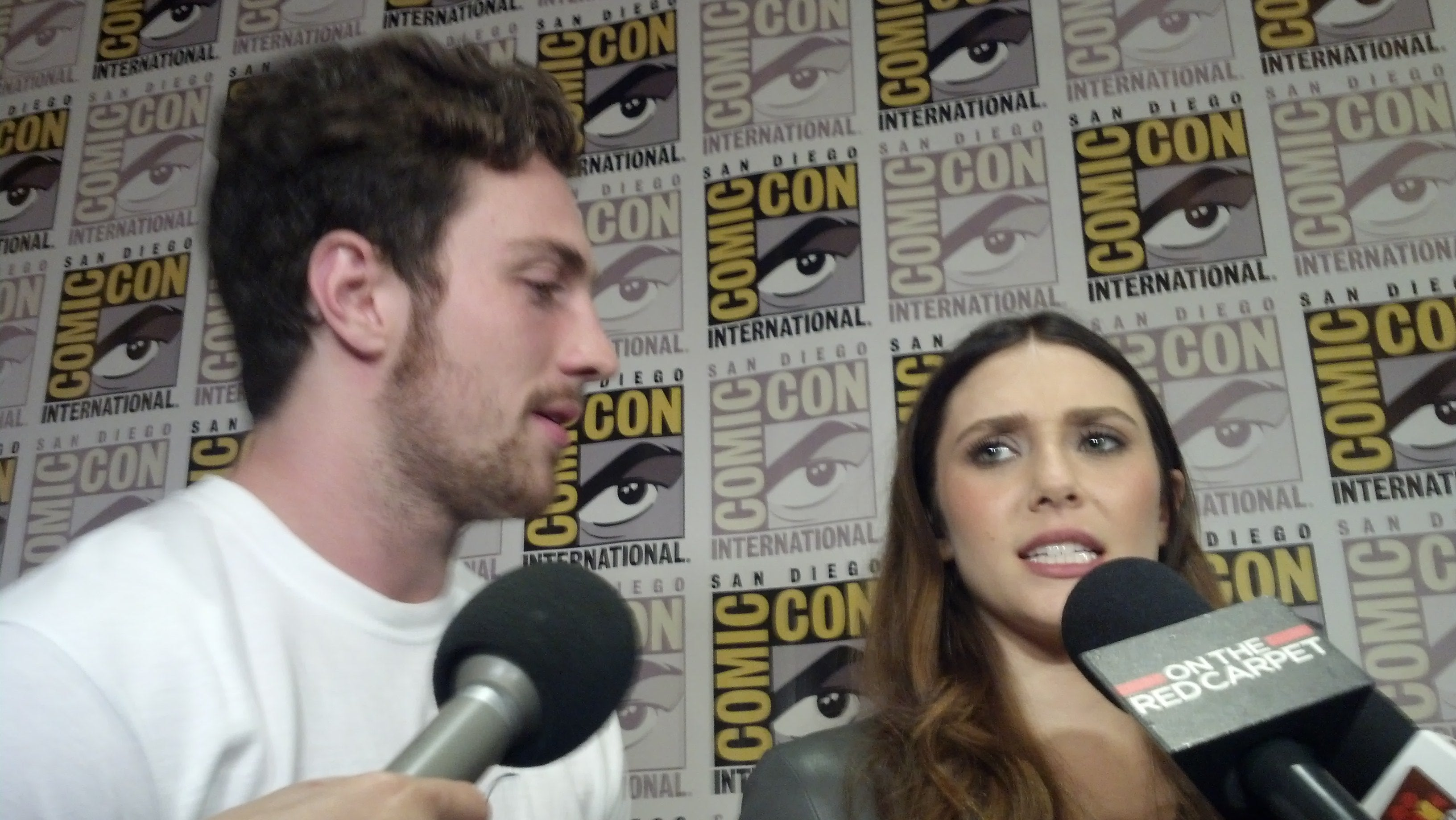 Avengers: Age of Ultron's Aaron Taylor-Johnson: Scarlet Witch and Quicksilver are Orphans Who Volunteer to Get Powers