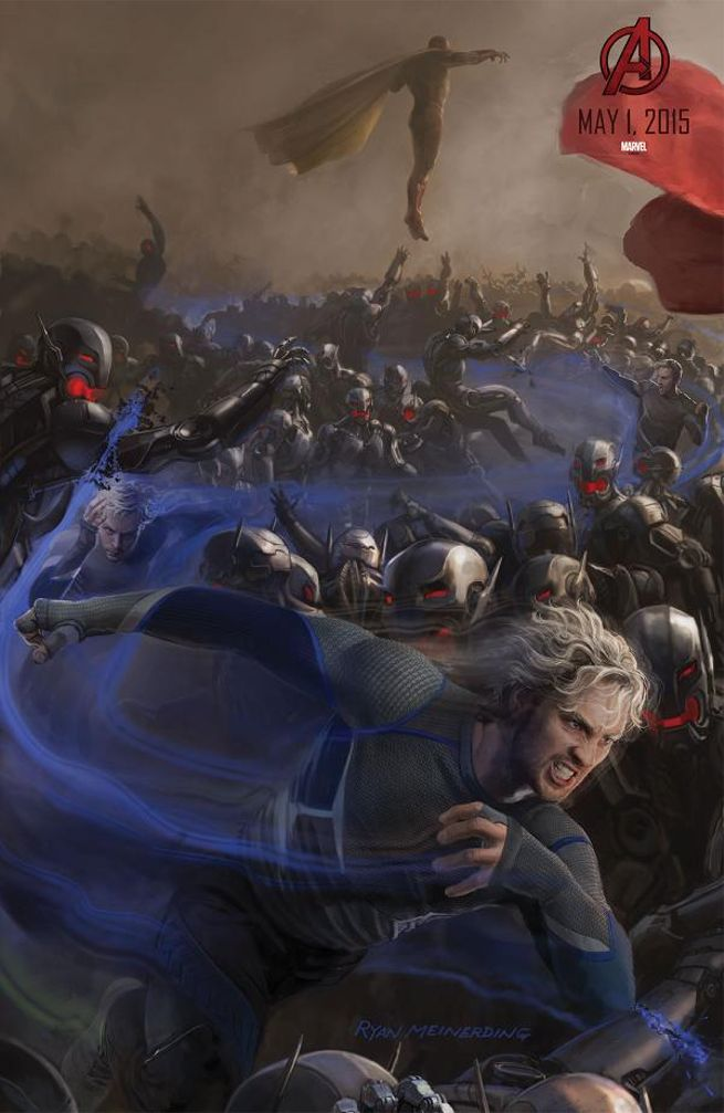 Avengers Age of Ultron Vision & Quicksilver