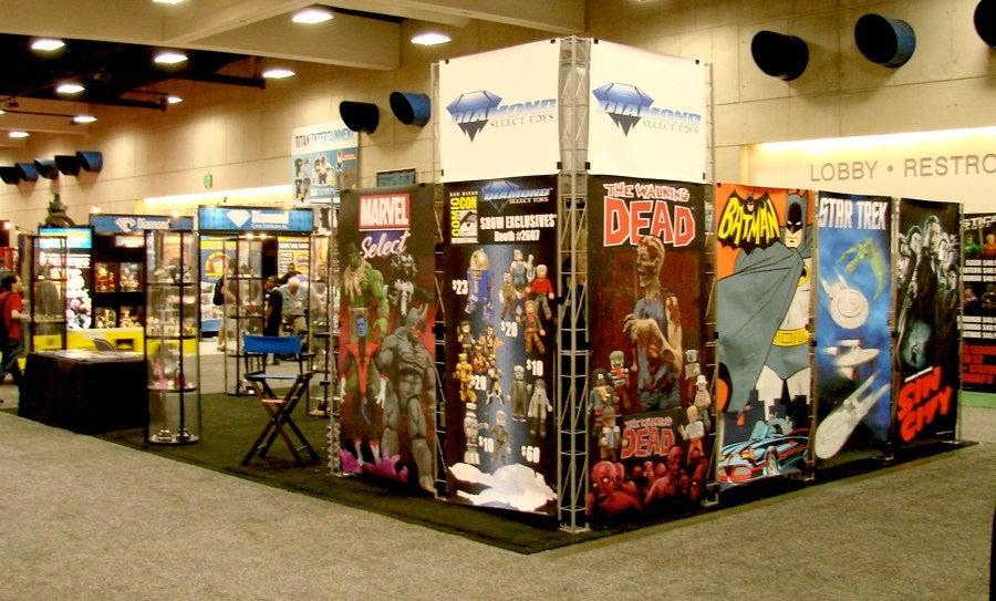 Diamond Select Toys Announce Comic Con Panels
