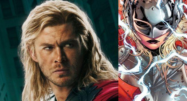Chris Hemsworth Female Thor