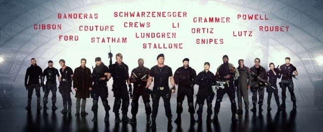 The Expendables 3 Gets PG-13 Rating