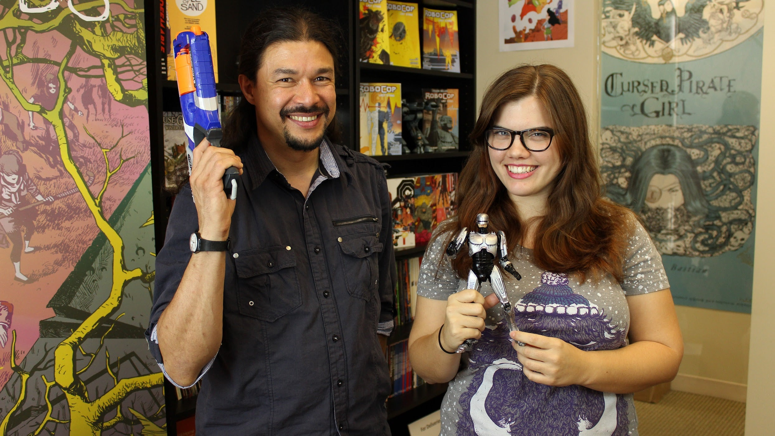 Guardians of the Galaxy's Fon Davis Appears on Buzz on BOOM! To Talk RoboCop