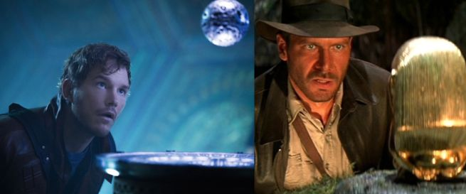 Guardians of the Galaxy & Raiders of the Lost Ark
