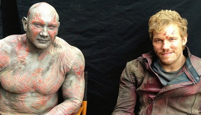 Guardians Of The Galaxy: More Behind-The-Scenes Photos Released