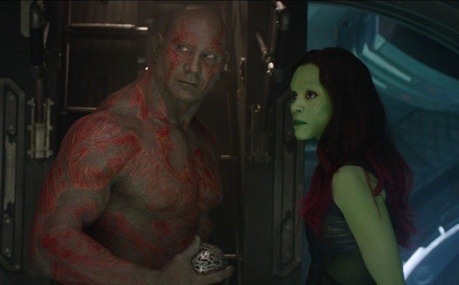 Dave Bautista Reveals Guardians Of The Galaxy Deleted Scene Where Drax Explains His Tattoos