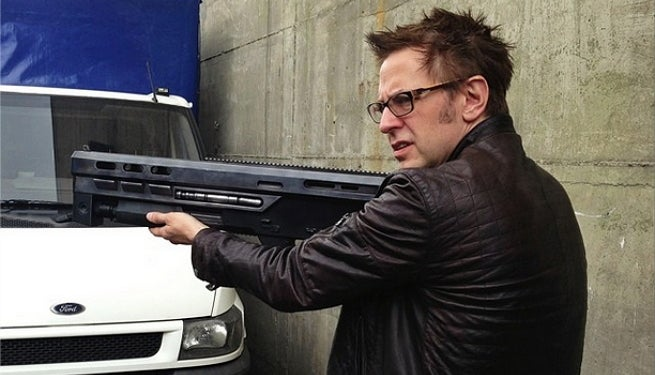 james gunn guardians of the galaxy koraths gun