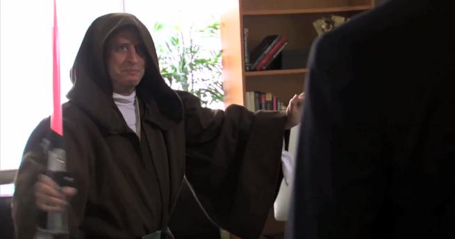 World's Biggest Star Wars Fan: Jon Stewart Or Stephen Colbert?