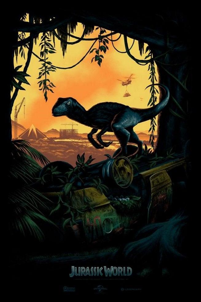jurassic world comic-con poster