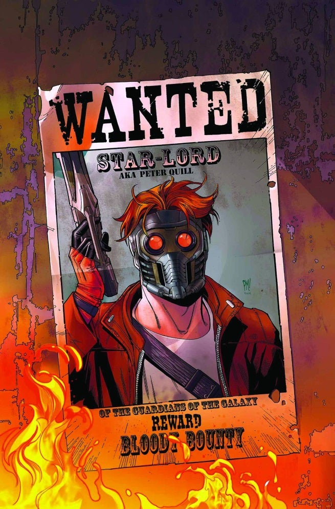 legendary star-lord 2 cover