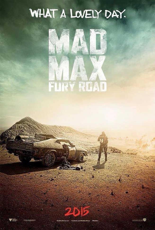 Mad Max: Fury Road Poster Released