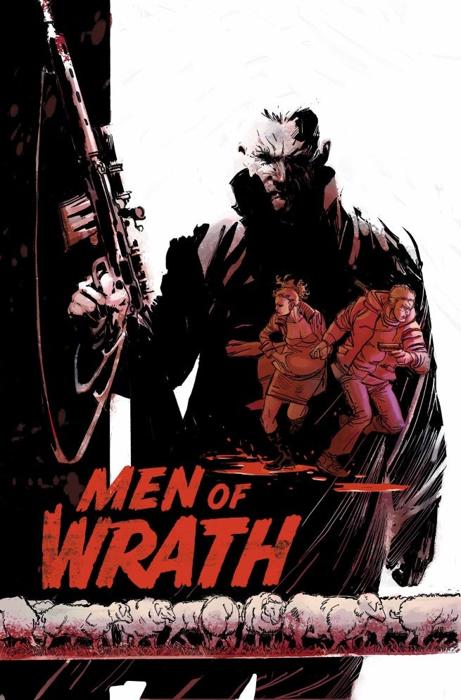 Men of Wrath 1 Cover