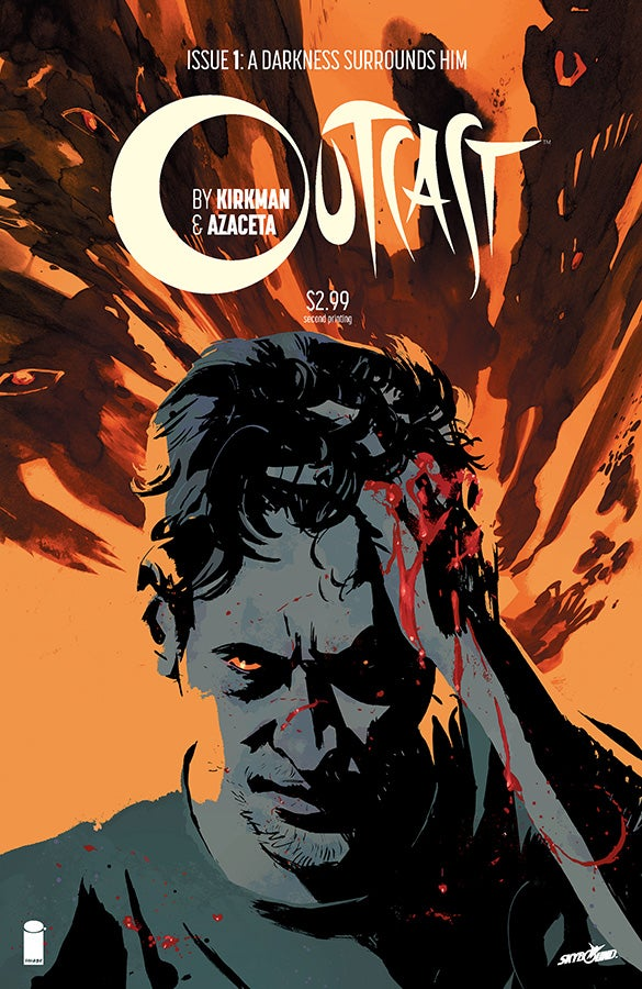 Outcast01 Cover 2ndPrinting