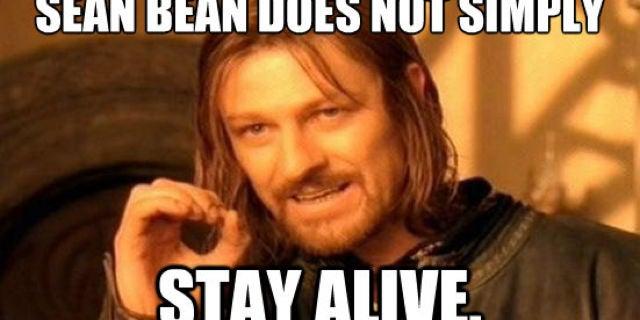 Sean Bean Stay Alive