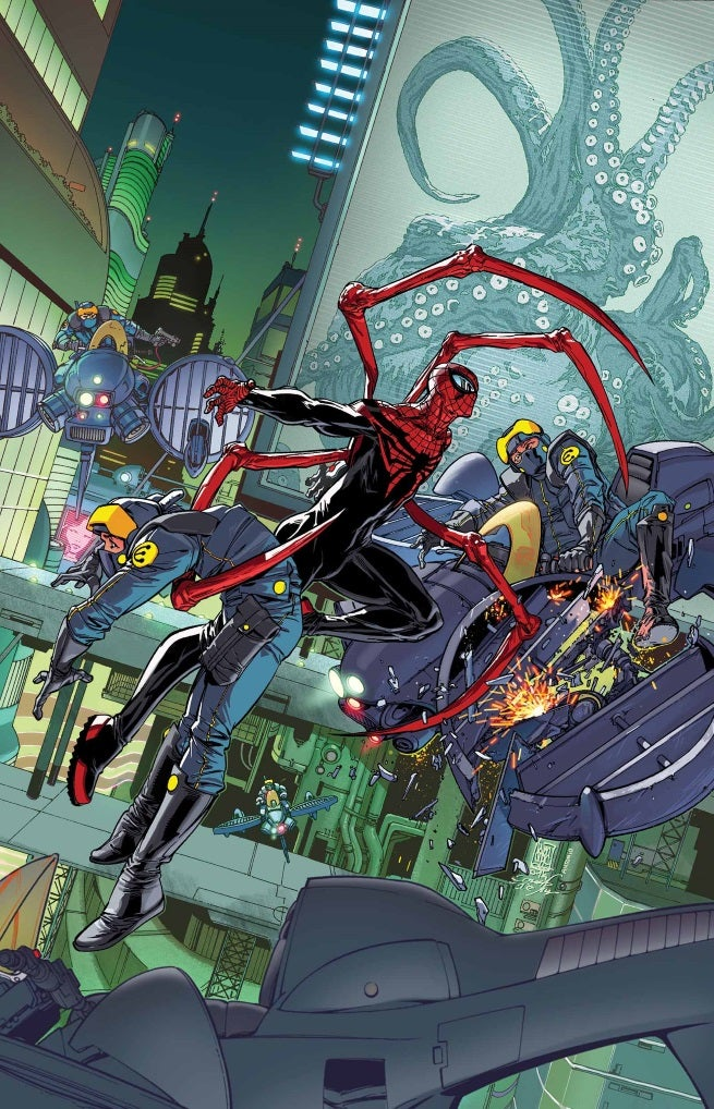 Superior Spider-Man 32 Cover