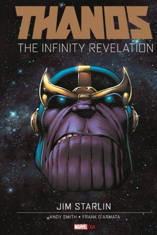 Thanos The Infinity Revelation OGN Cover