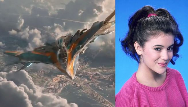 Guardians Of The Galaxy: Quill's Ship The Milano Is Named For Alyssa Milano