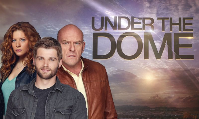 under the dome comic con