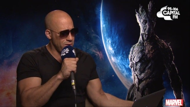 Guardians Of The Galaxy's Vin Diesel Sings Sam Smith's Stay With Me