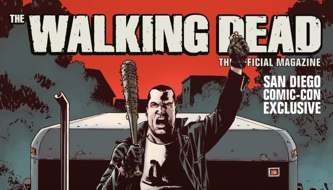 Walking Dead Magazine #9 San Diego Exclusive Cover top