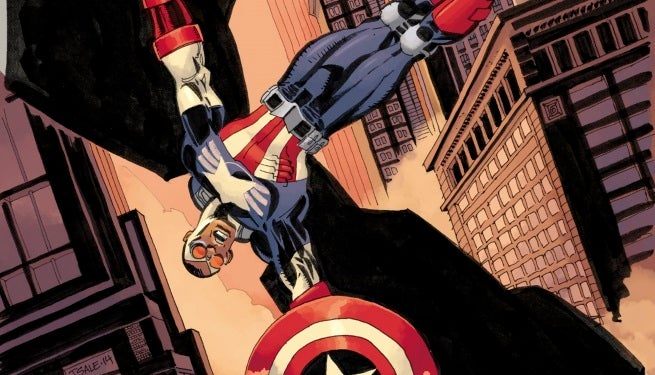 All-New Captain America 2 Tim Sale Variant top