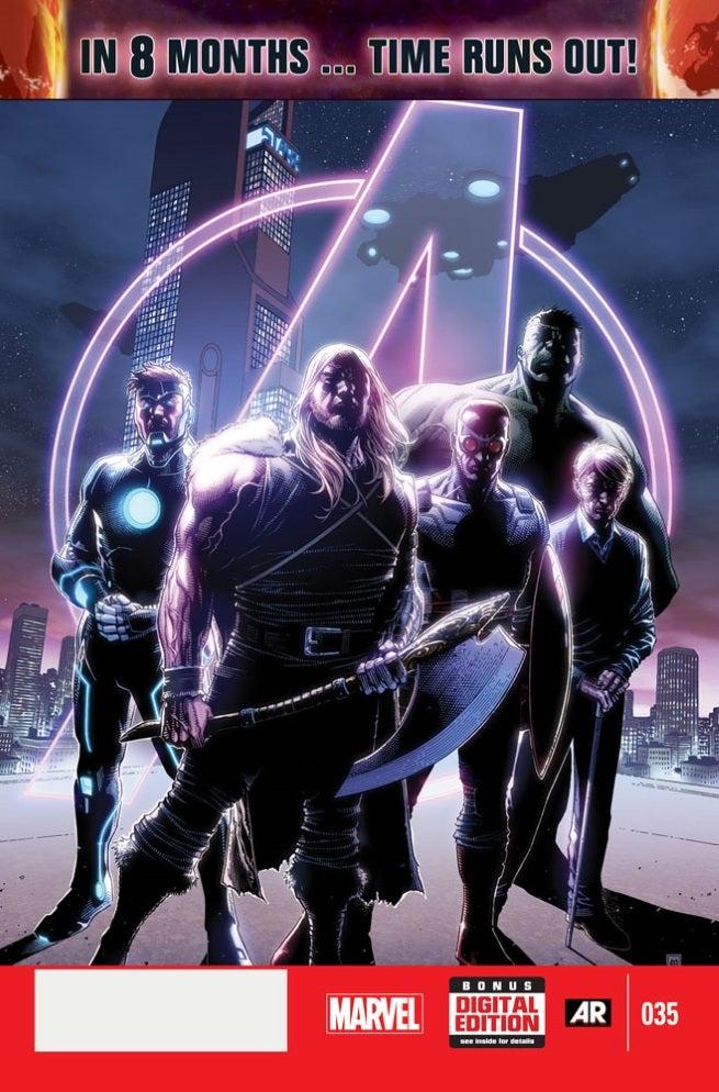 Avengers 35 Cover