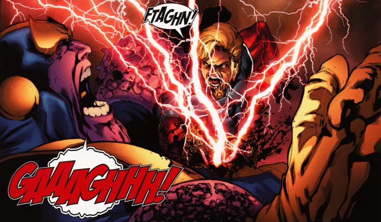 Captain-Mar-Vell-vs-Thanos-Marvel-Comics