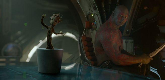 Dancing Groot Drax