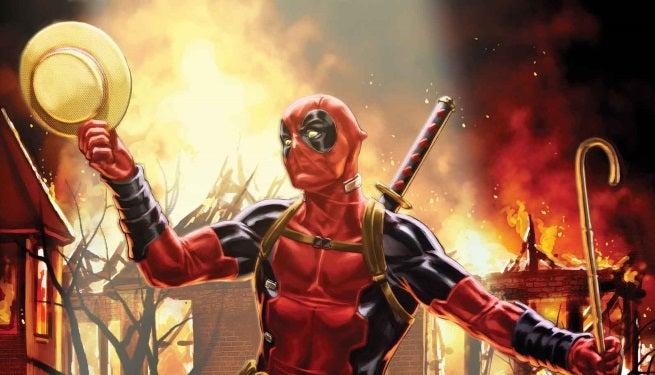 Deadpool 34 Cover top