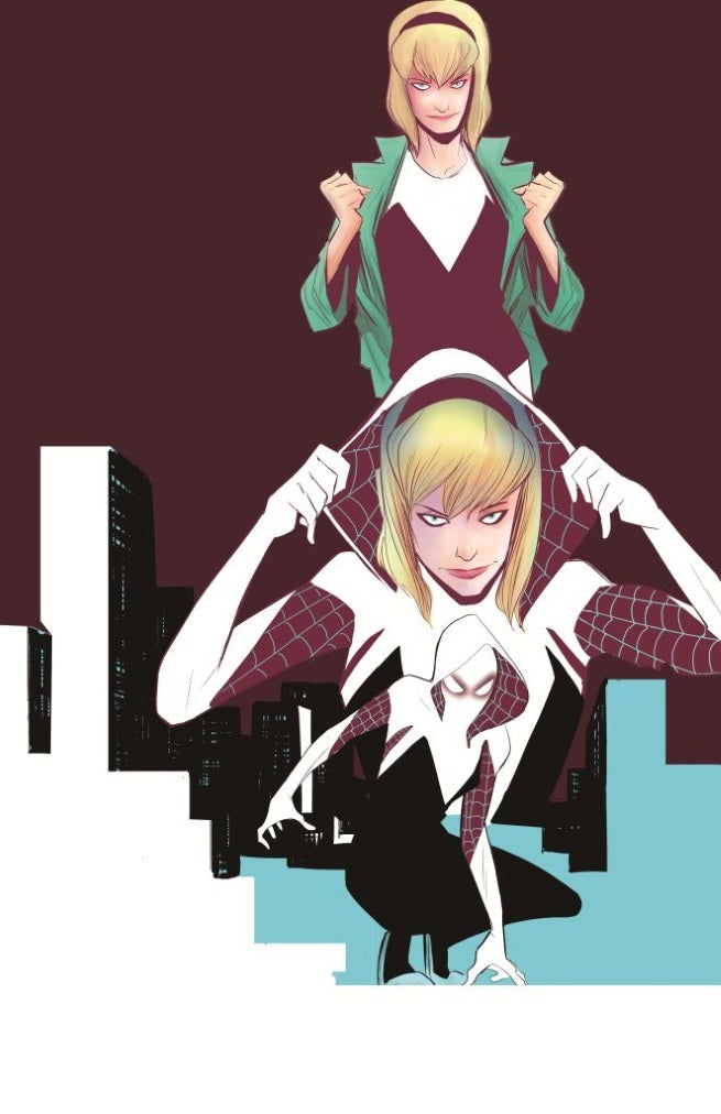 Edge of Spider-Verse 2 Cover