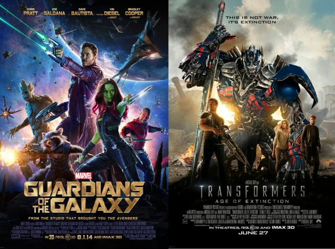 Guardians of the Galaxy Transformers: Age of Extinction