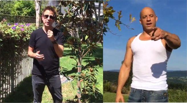 James Gunnn Vin Diesel Plant A Tree For Groot