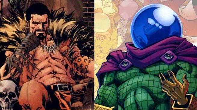 Kraven and Mysterio