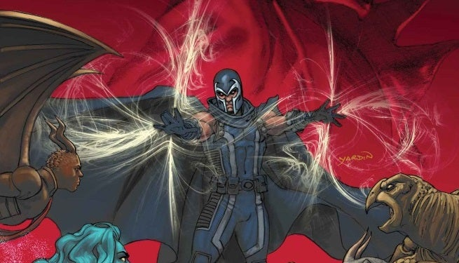 Magneto 9 Cover top