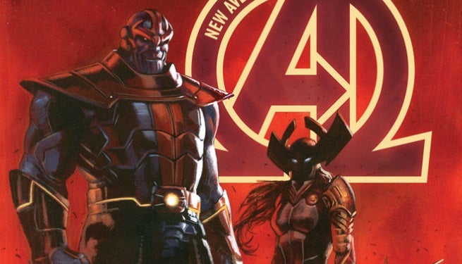 New Avengers 24 Cover top