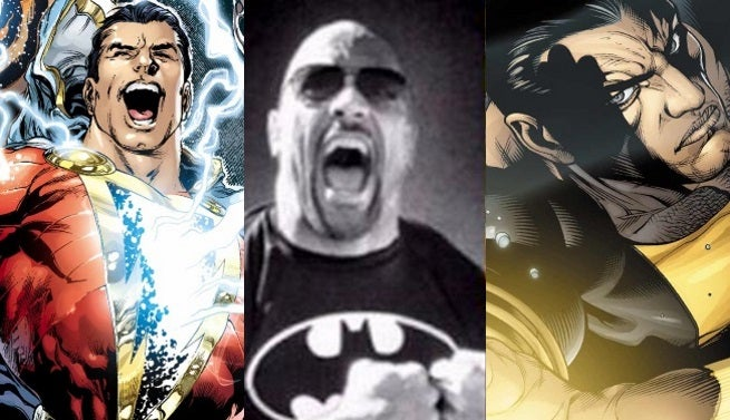 rock shazam black adam