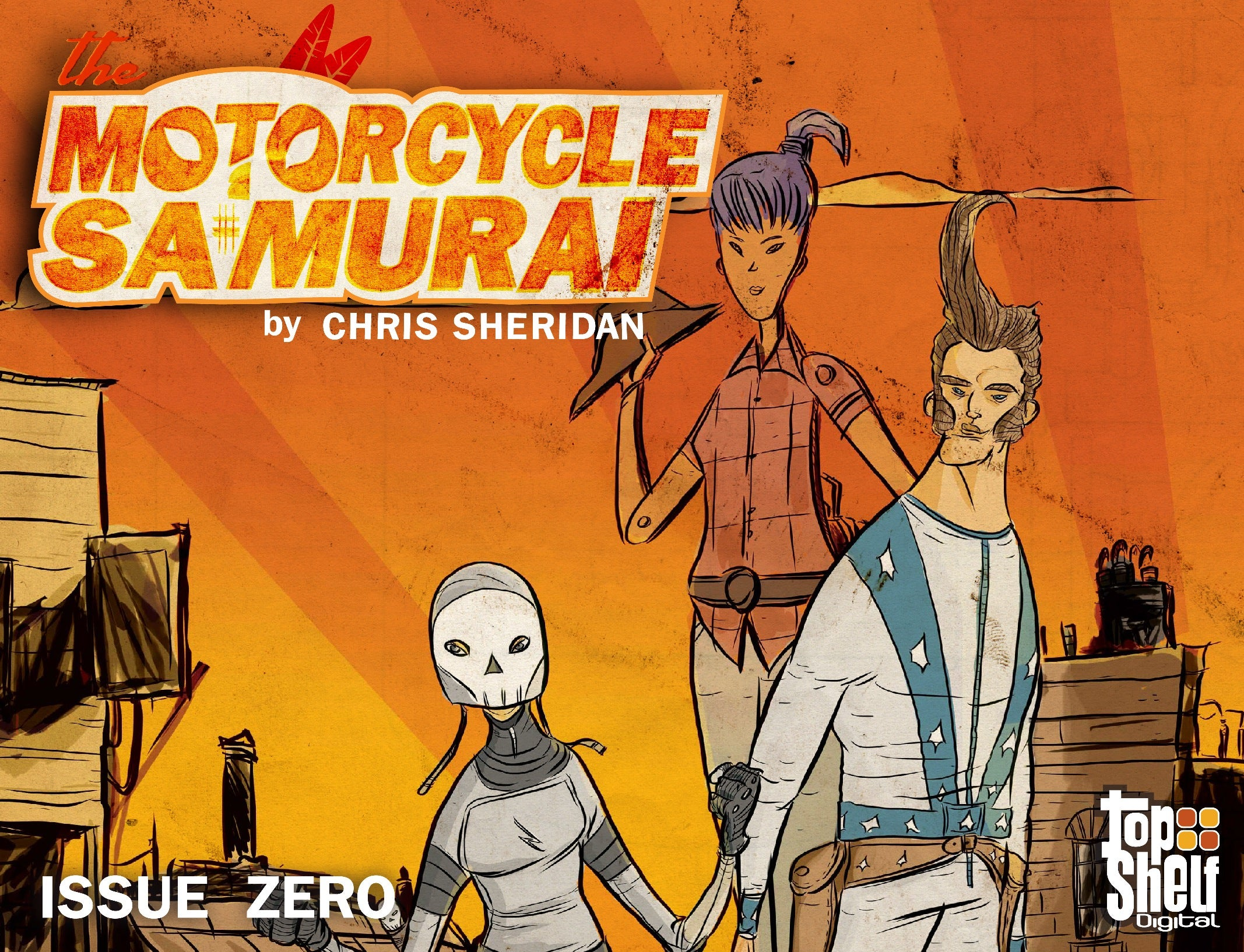 Sheridan Motorcycle Samurai #0 Page 001
