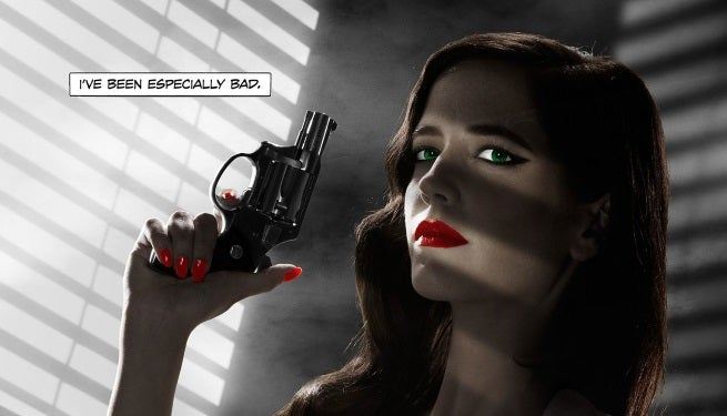 sin city eva green poster top