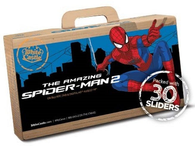 White Castle Teaming Up With Sony To Promote Amazing Spider-Man 2 DVD & Blu-Ray Release