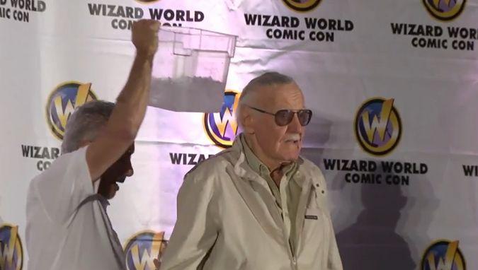 Stan Lee ALS Ice Bucket Challenge