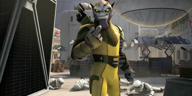 star wars rebels zeb short