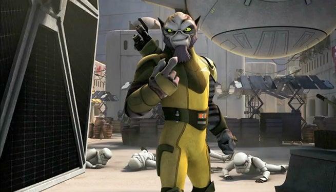 star wars rebels zeb short
