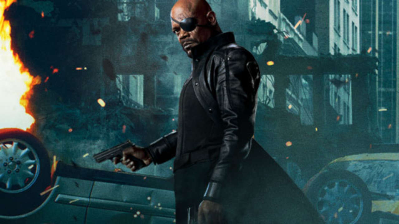 Nick Fury Wallpaper
