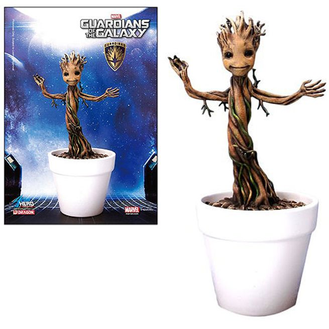 Guardians Of The Galaxy Baby Groot Model Kit Announced