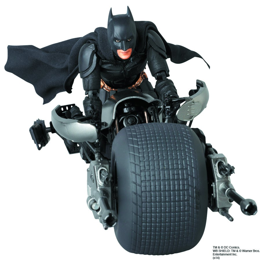 The Dark Knight Rises' Batman and Batpod Deluxe Action Figures Coming