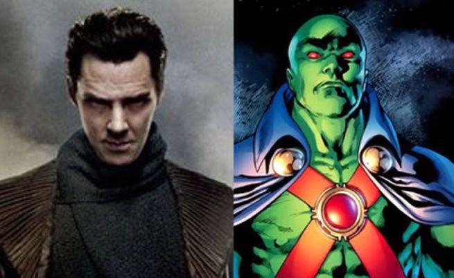Benedict Cumberbatch Martian Manhunter